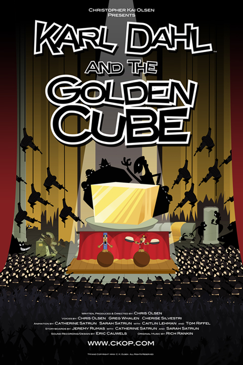 Karl Dahl and the Golden Cube POSTER